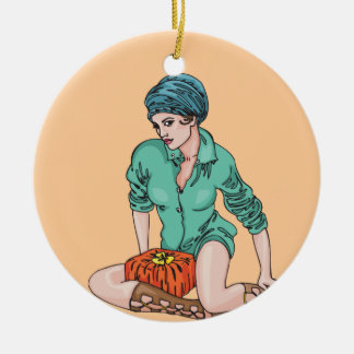 Women Love Gifts Ornament