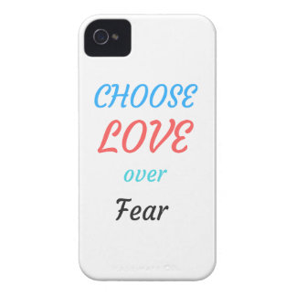 WOMEN MARCH CHOOSE LOVE OVER FEAR Case-Mate iPhone 4 CASES