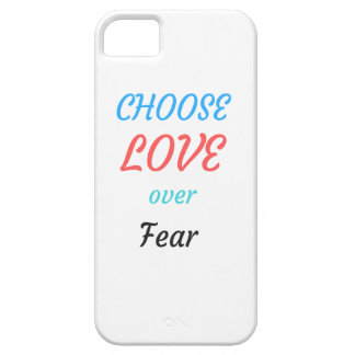 WOMEN MARCH CHOOSE LOVE OVER FEAR iPhone 5 CASES