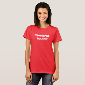 women march text political message america metoo w T-Shirt