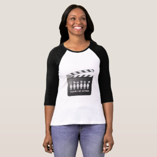 WOMEN of ACTION Baseball T T-Shirt