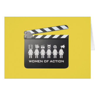 WOMEN of ACTION blank card