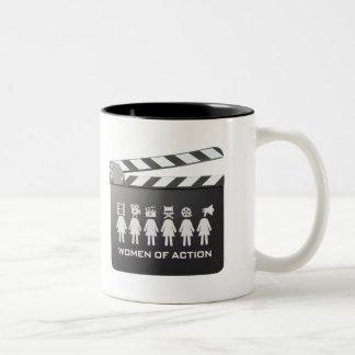 WOMEN OF ACTION Coffee Mug