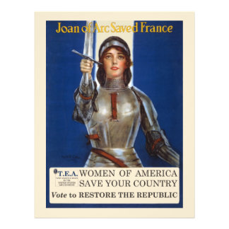 Women of America Save Your Country Vote Tea Party 21.5 Cm X 28 Cm Flyer