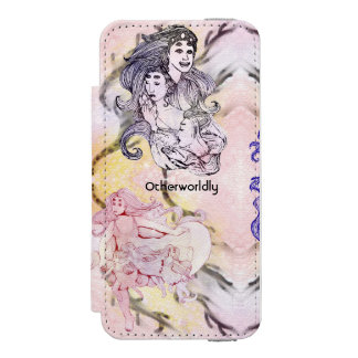 Women of Corona Borealis Aliens Space Fantasy Incipio Watson™ iPhone 5 Wallet Case