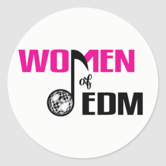 Women of EDM Logo Sticker