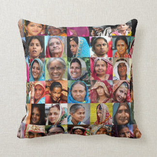 Women of India Cushion