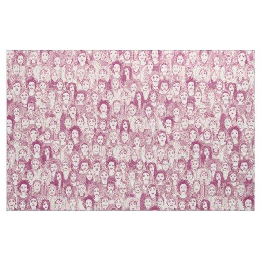 women of the world cherry fabric