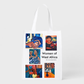 Women of West Africa Reusable Grocery Bag