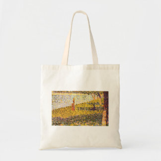 Women on the shore by Georges Seurat Bag