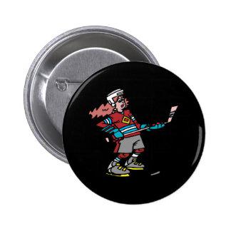 Women Play Hockey Too Pin