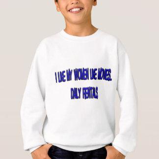 WOMEN.png Sweatshirt