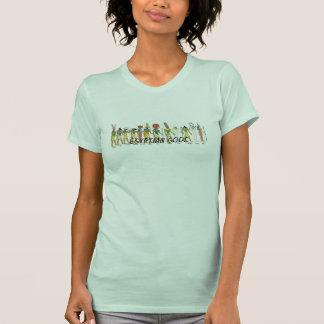 Women Raceback T-shirts. T-shirt