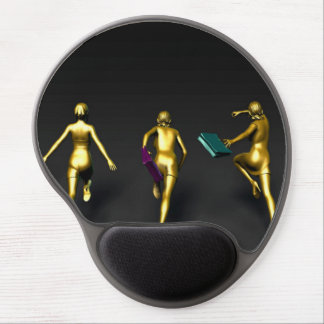 Women Running to a Sale Event Special Gel Mouse Pad