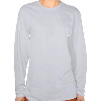 Women s Ash Long Sleeve Lucky Dog Shirt