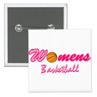 Women s Basketball Logo Button