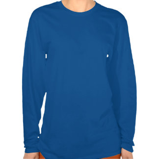 Women s blue long sleeved medium t-shirts