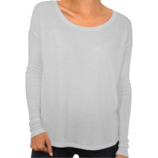 Women s Flowy Long Sleeve - Black AF Tee Shirts