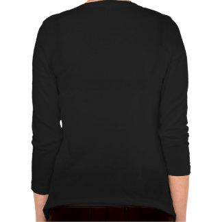 Women s Long Sleeve V-Neck Shirt Love Cats