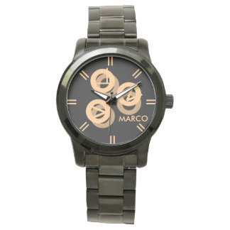 "Women""s Oversized Two-Tone Bracelet Watch"