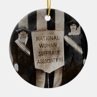 Women s Suffrage Movement Christmas Ornament