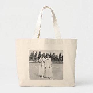 Women s Tennis Champions 1913 Canvas Bags