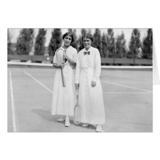 Women s Tennis Champions 1913 Greeting Cards