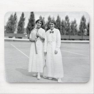 Women s Tennis Champions 1913 Mousepad