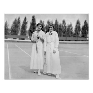 Women s Tennis Champions 1913 Poster