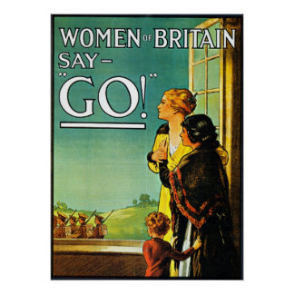 Women Say Go! - Poster
