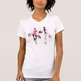 Women Shopping Womens T-Shirt