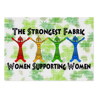 Women Supporting Women Pack Of Chubby Business Cards