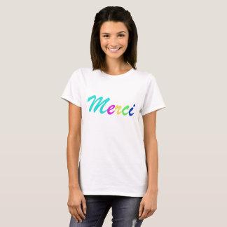 Women T-shirt MERCI colours