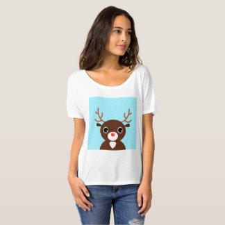 Women t-shirt with Reindeer