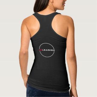 women tanktop - UNLEASH logo back