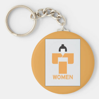 Women toilet, Japanese Sign Key Chains