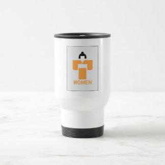 Women toilet, Japanese Sign Stainless Steel Travel Mug