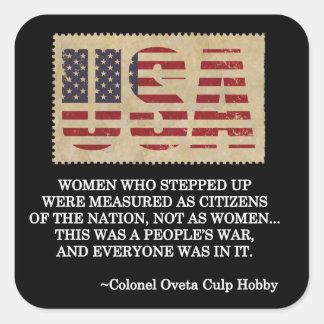 Women Veterans Day Stickers