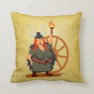 Women Vikings Rule Cushion