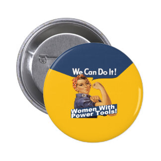 Women w Power Tools button
