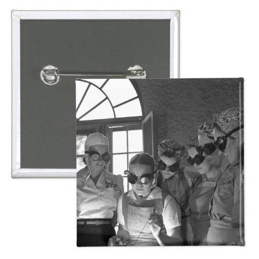 Women Welders in WWII, 1940s Pins