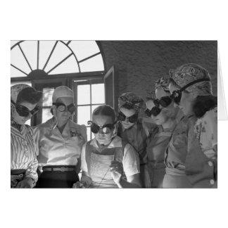 Women Welders in WWII, 1940s Cards