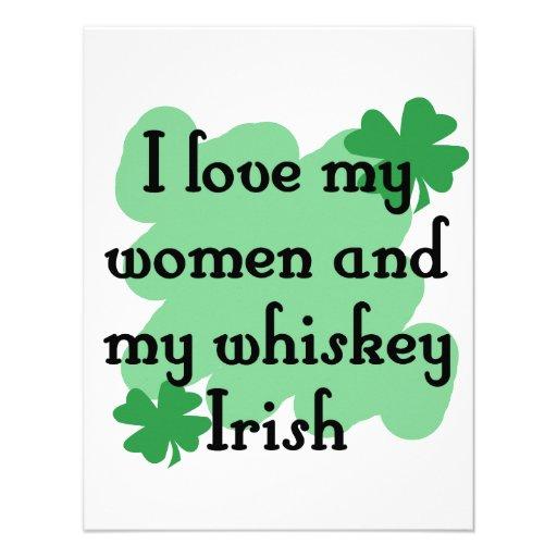 women & whiskey invites
