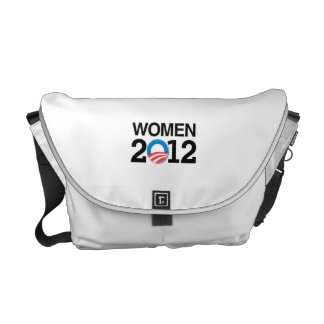 WOMEN WITH OBAMA.png Courier Bags