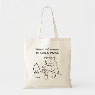 Women World Peace Tote Bag