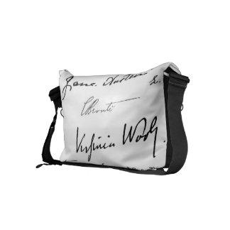 Women Writers Commuter Bags