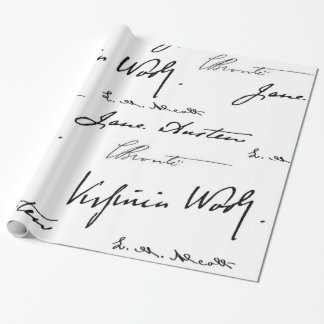 Women Writers Wrapping Paper