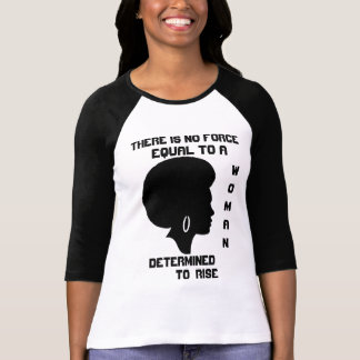 Women's3/4 Sleeve Raglan There is no equ T-Shirt