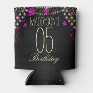 Womens 21st 30th 40th 50th 60th 70th 80th Birthday Can Cooler