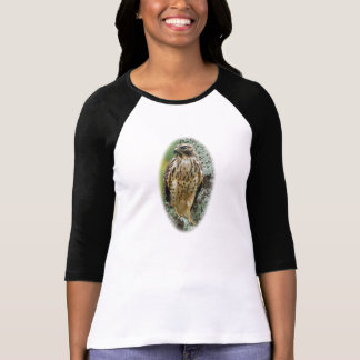 Women's 3/4 Sleeve T-Shirt Red-Tailed Hawk